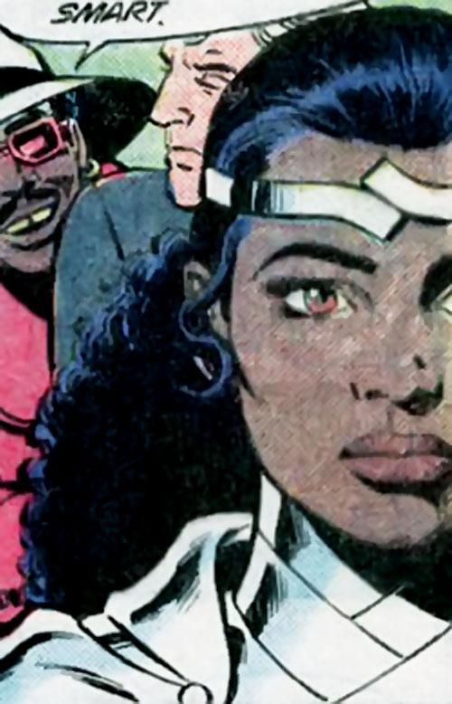 Onyx (Green Arrow ally) (DC Comics) portrait