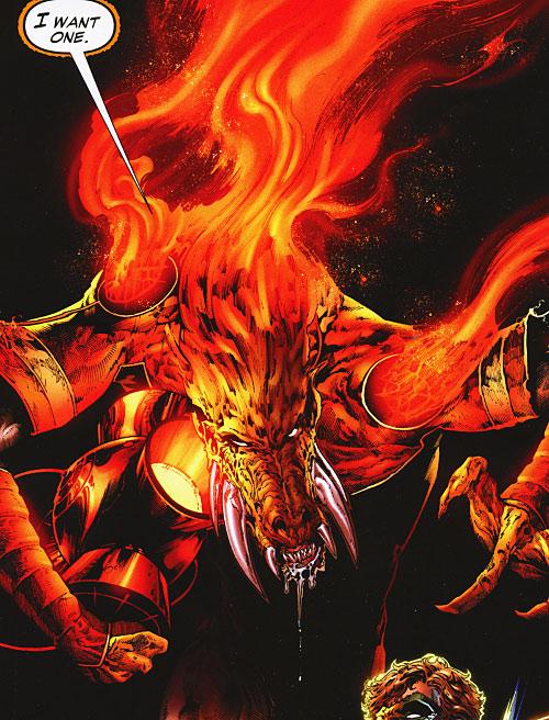 Larfleeze (Orange Lantern) (DC Comics) Agent Orange