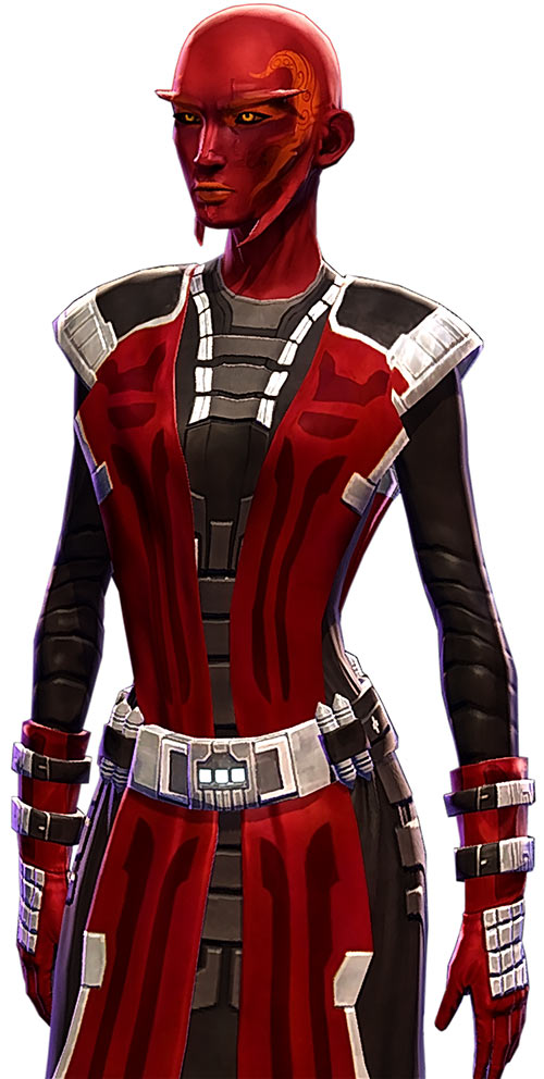 Star Wars the Old Republic - SWTOR - Sith Inquisitor - Orfenn - Sith uniform of evil