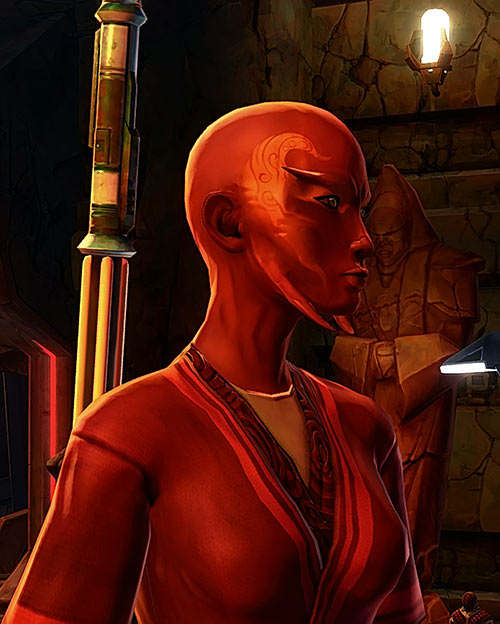 Star Wars the Old Republic - SWTOR - Sith Inquisitor - Orfenn - Face side cute