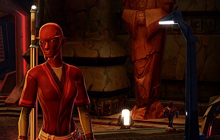 Star Wars the Old Republic - SWTOR - Sith Inquisitor - Orfenn - Tomb