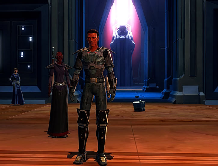 Star Wars the Old Republic - SWTOR - Sith Inquisitor - Orfenn and Ffon at the academy