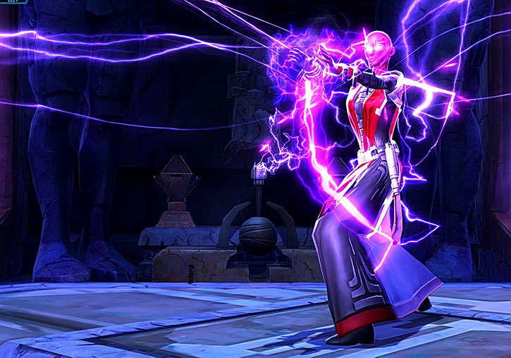 Star Wars the Old Republic - SWTOR - Sith Inquisitor - Orfenn - Force lightning