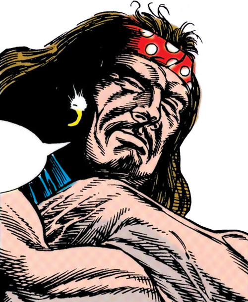 Outlaw (DC Comics) (John Henry Martin) bandanna
