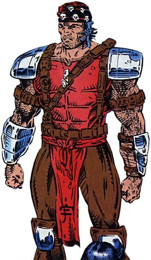 Pacer of the Gene Dogs (Marvel Comics UK) standing