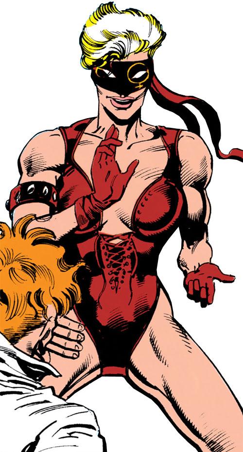 Pagan (Marian Mercer) (Batman character) (DC Comics) ready for action