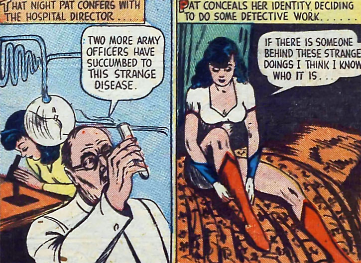 Par Parker War Nurse does science then puts on her costume