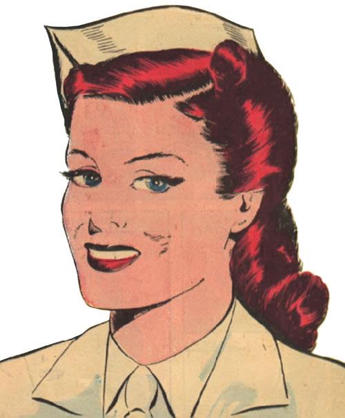 Pat Parker War Nurse (Harvey Comics) original appearance