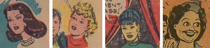 The Girl Commandos - Tanya, Penny, Mei Ling, Ellen