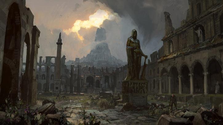Path of Exile - Artwork - Sarn ruins