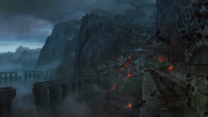 Path of Exile - Artwork - High Gate