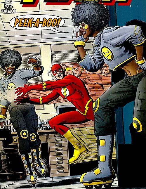 Peek-a-Boo vs. the Flash (DC Comics)