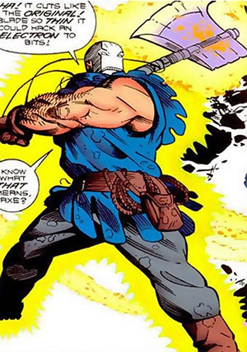 The Persuader (rebooted version) swinging his axe
