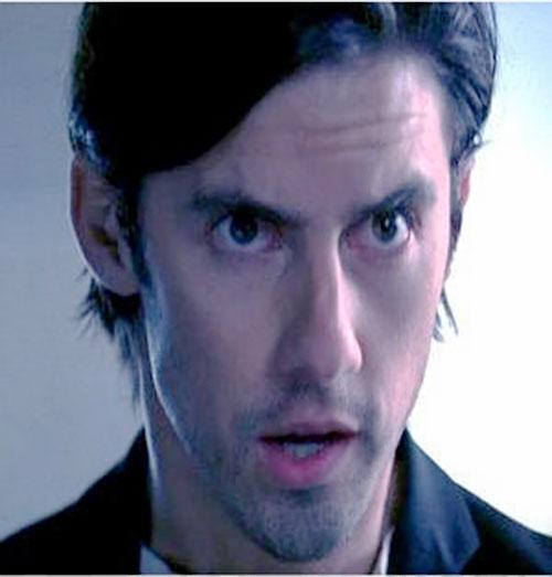 Peter Petrelli (Milo Ventimiglia in Heroes) face closeup