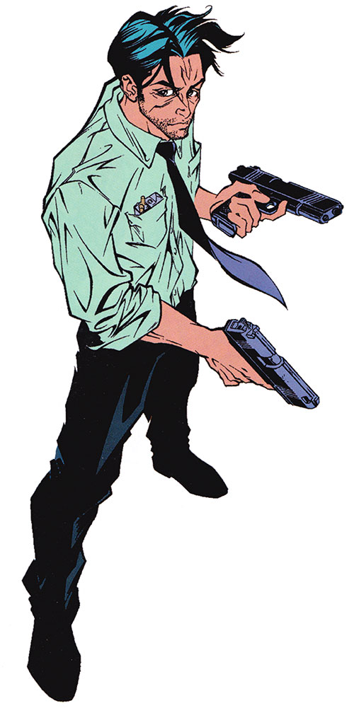 Pete Wisdom of Excalibur (Marvel Comics)