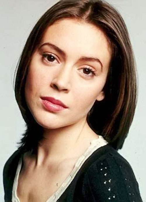 Phoebe Halliwell (Alyssa Milano in Charmed) portrait