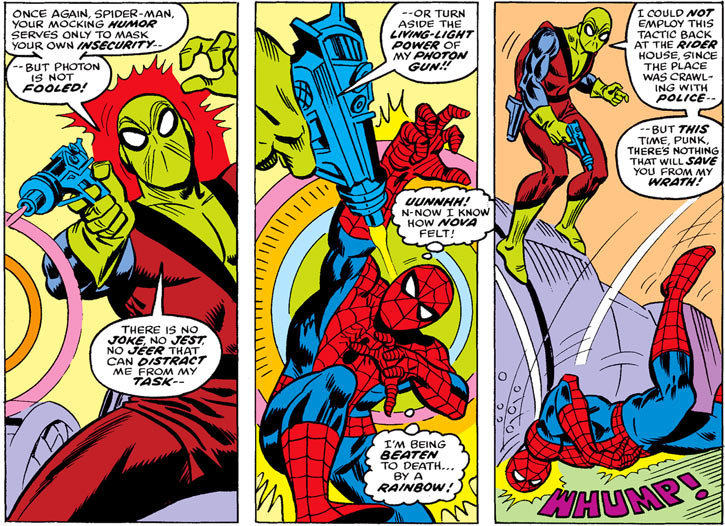 Photon vs. Spider-Man