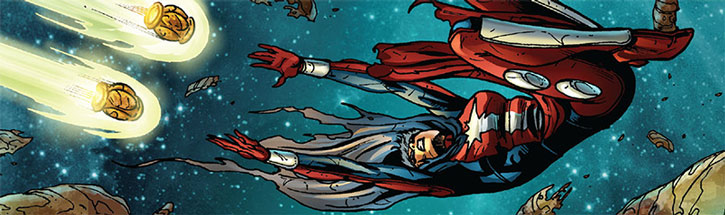 Phyla-Vell about to wield the Quantum Bands