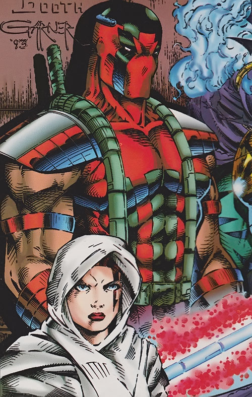 Pike of the Cabal (WildCATs enemy) (Wildstorm Comics) and allies