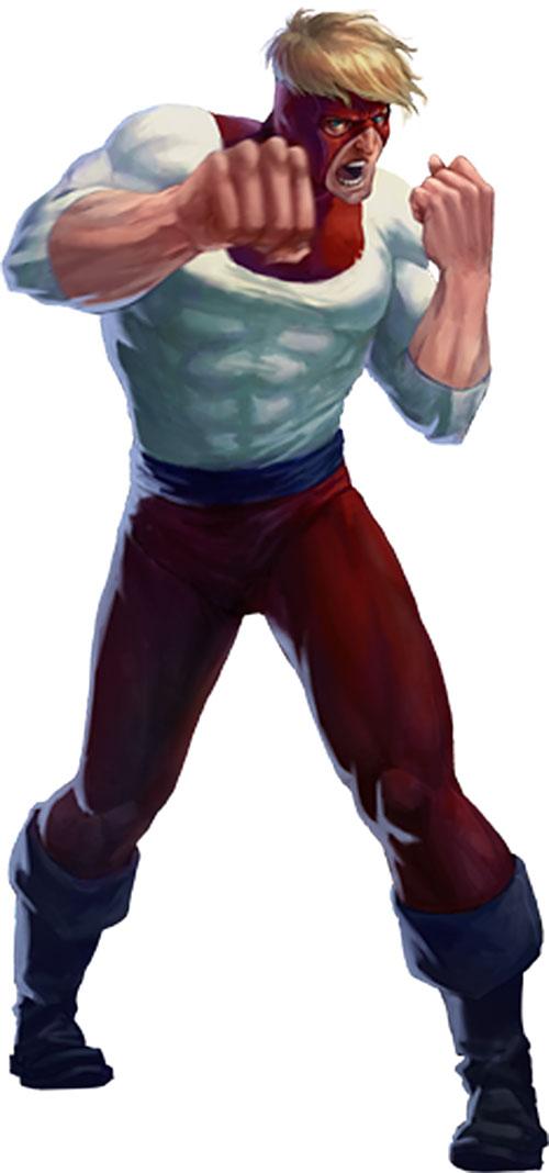 Piledriver (Brian Calusky) boxing