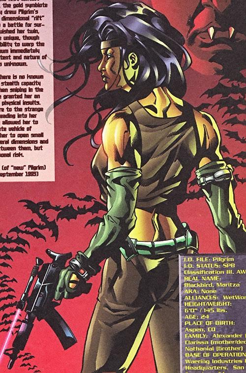 Pilgrim of Wetworks (Image comics) back view