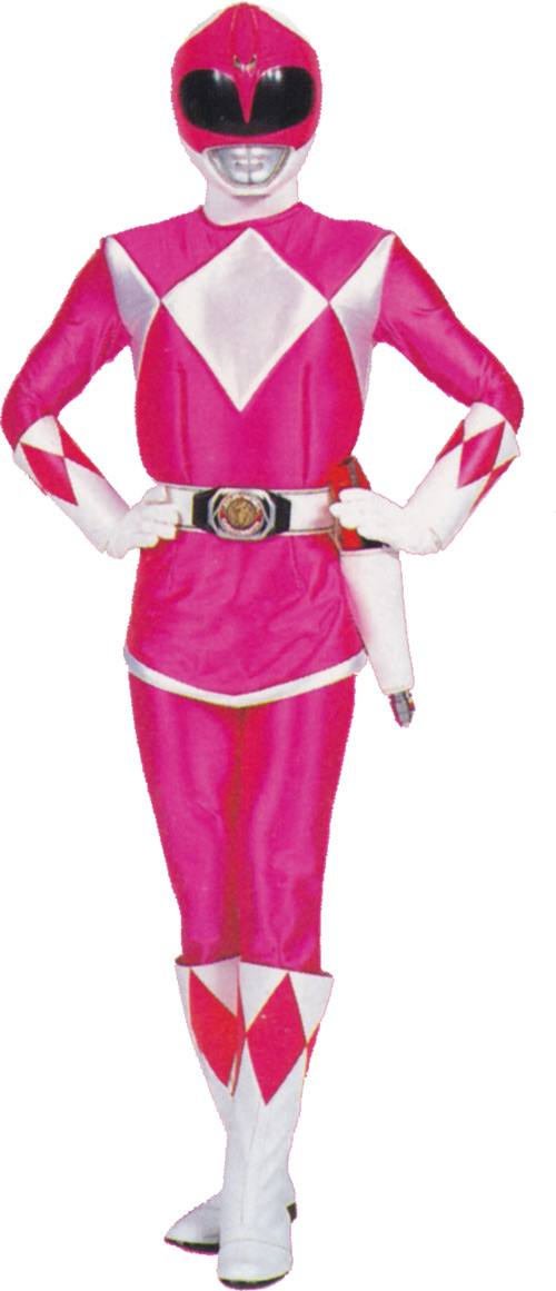 Pink Ranger (Kimberly) of the Mighty Morphin' Power Rangers