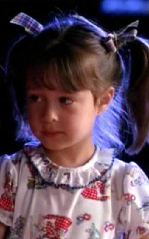 Piper Halliwell (Holy Marie Combs in Charmed) as a kid