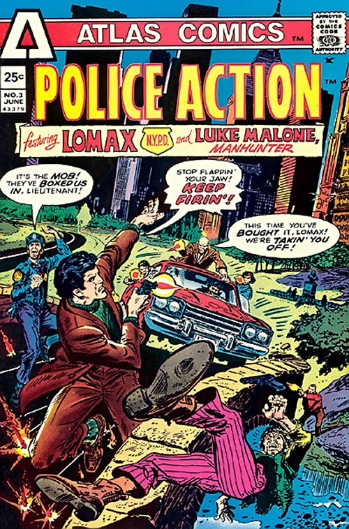 Police Action #3 cover from Atlas/Seaboard