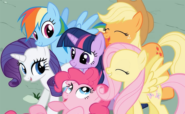 My Little Pony (MLP) - main gang