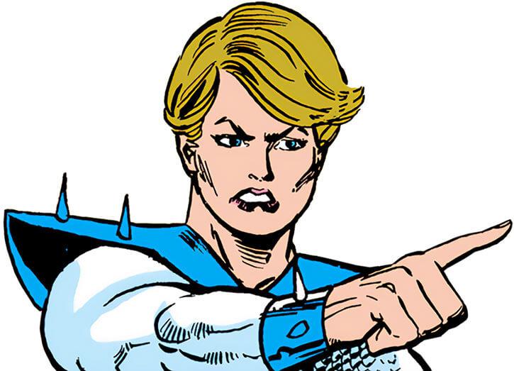Poundcake (Marvel Comics) without her mask