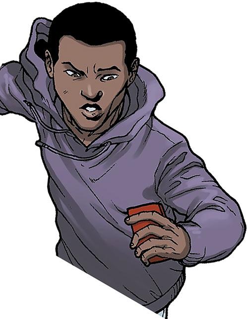 Power Man (Marvel Comics) (Victor Alvarez) out of costume