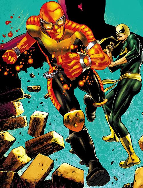 Power Man (Marvel Comics) (Victor Alvarez) and Iron Fist