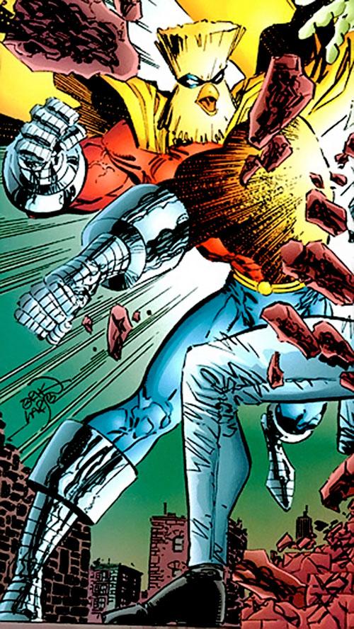 Powerhouse (Savage Dragon comics character) punching
