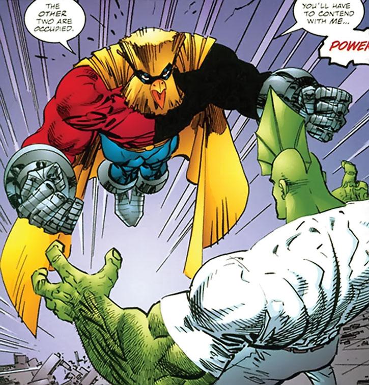 Powerhouse (Denny Atlas) vs. Savage Dragon