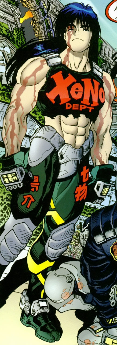 Pretty Deadboy from Adam Warren's Titans