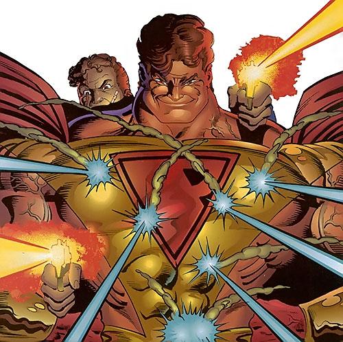 Prime (Ultraverse Malibu Comics) and Firearm
