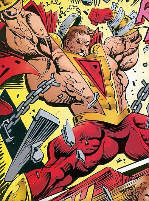 Prime (Ultraverse Malibu Comics) breaking his chains