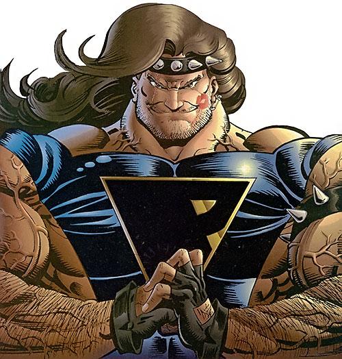 Prime (Ultraverse Malibu Comics) (bad boy persona) portrait lipstick