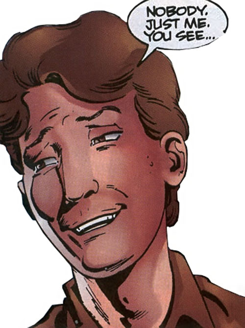 Prime (Ultraverse Malibu Comics) Kevin face closeup