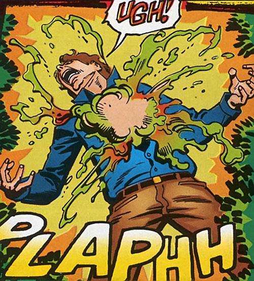 Prime (Ultraverse Malibu Comics) Kevin transforming