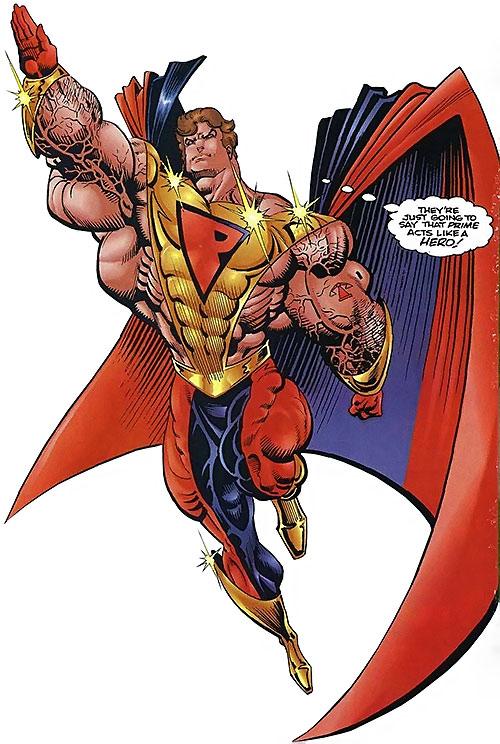 Prime - Ultraverse - Malibu Comics - Kevin Green - Character ...
