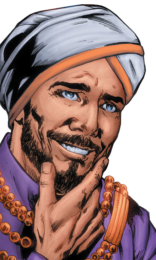Prince Charming of the Fables (DC Comics) with a turban and beard