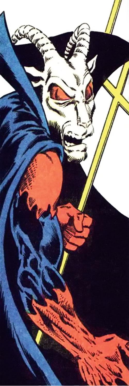 Printer's Devil (Green Arrow enemy) (Detective DC Comics) side view