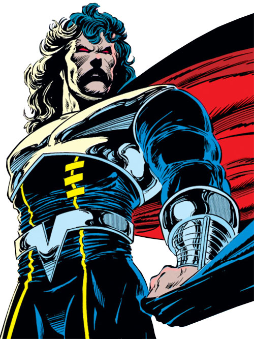 Proctor of the Gatherers (Avengers enemy) (Marvel Comics) looking dramatic