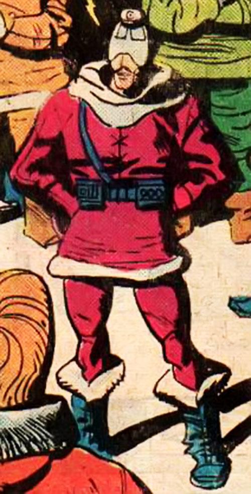 Professor Ojo (Richard Dragon enemy) (DC Comics)