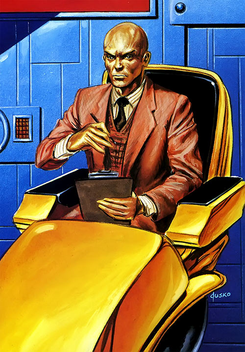 Professor X of the X-Men (Marvel Comics) by Joe Jusko
