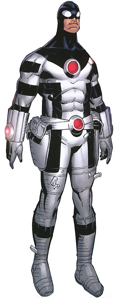 Protector of the Avengers (Noh-Varr) (Marvel Comics) white and black uniform