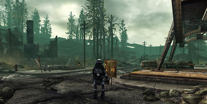 Fallout 3 - Protectron robot in Springdale
