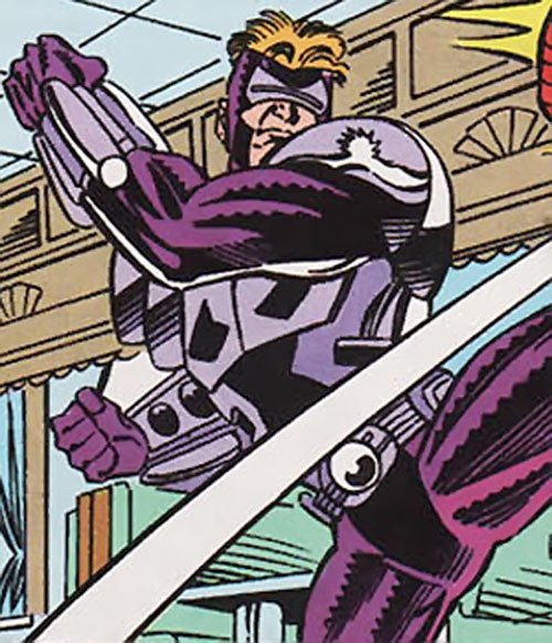 Pulse of the Foreigner Death Squad (Spider-Man enemy) (Marvel Comics)