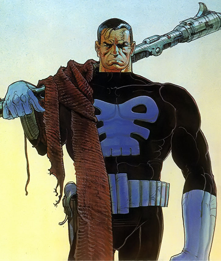 The Punisher by Moebius